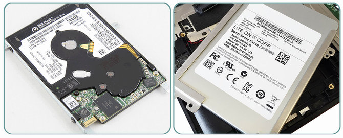 How to remove the HDD or SSD drive from ThinkPad or other